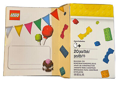 LEGO Buildable Birthday Card Set - 5004931 - HARD TO FIND - New & Sealed • 1.69£