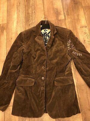 Ringspun Brown Cord Northern Soul Jacket! M. Immaculate Condition. • 14.60£