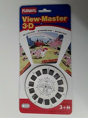Vintage 1989 - Playskool 3-d Viewmater My Little Pony - New On Card • 10£