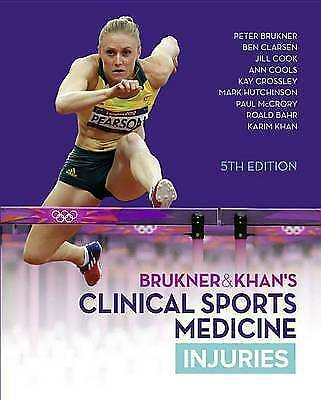 BRUKNER & KHAN'S CLINICAL SPORTS MEDICINE: INJURIES, VOL. 1 By Brukner And Khan • 55£