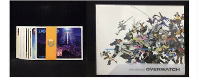 $ CDN66.63 • Buy Overwatch Collectors Edition Art Book Gaming Video Game Blizzard + Art Cards