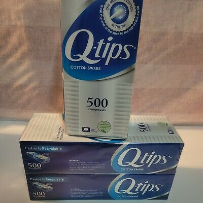 $ CDN20.39 • Buy Q-tips Cotton Swabs1500 Ct Total Family Pack 500 Ct New And Sealed