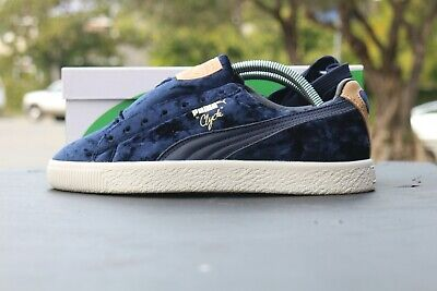 Puma Clyde Extra Butter Nacy Peacoat Blue DS US Mens 8 • 142.23£