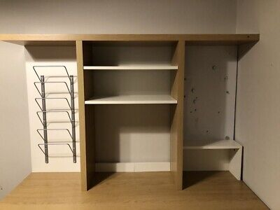 Ikea Mikael Desk Storage / Organiser With Whiteboard And Shelving • 20£