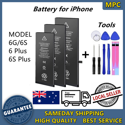 AU19.66 • Buy For IPhone 6 S Plus New Battery Replacement High Capacity With Tools