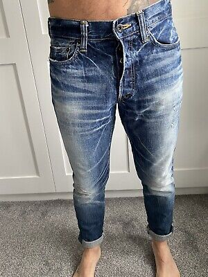 Prps Distressed Blue Denim Jeans  • 60£
