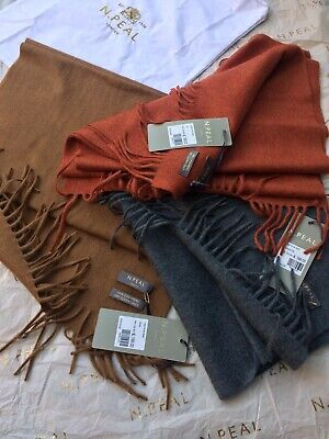 N Peal Large Woven Scarf 1 For £89, All 3 For £229 • 89£