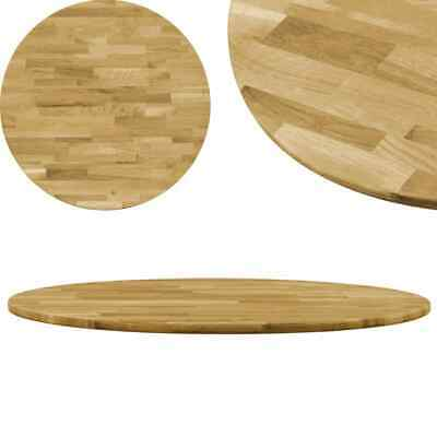 AU208.94 • Buy Table Top Solid Oak Wood Round 23 Mm 900 Mm