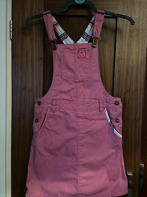 Joules Dungarees Dress Pink Age 11 - 12 • 9.99£
