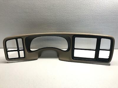 $112.50 • Buy 2003 Silverado 1500 Dash Cluster Bezel Trim Light Neutral OEM