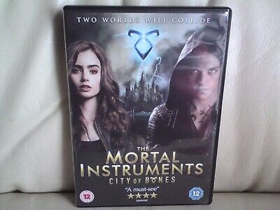 The Mortal Instruments - City Of Bones (DVD, 2014)USED, • 0.50£