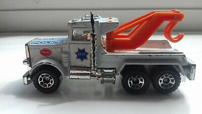 £24.99 • Buy Matchbox Diecast Toy Car Peterbilt Police Recovery Truck 1981