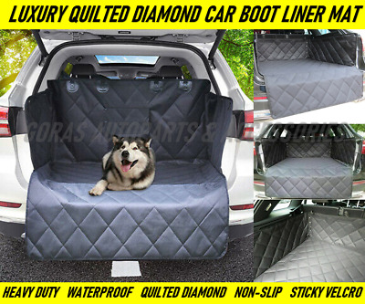 Luxury Quilted Heavy Duty Car Boot Trunk Liner Mat For VW Golf MK7 (2013 On) • 24.99£