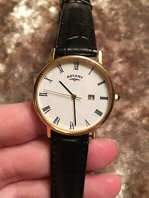 Rotary G896 Vintage Retro Electro Gold Plated Watch (in Perfect Working Order) • 10£