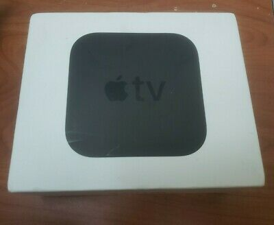 AU114.11 • Buy Apple TV (4th Gen) 32GB HD Media Streamer - Black (MR912LL/A) A1625 - *No Remote
