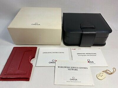$ CDN100.76 • Buy GENUINE OMEGA Speedmaster Professional Watch Box Case Booklet 0228113