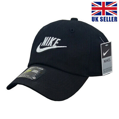 Women Mens Baseball Caps Swoosh Metal Logo Sports Adjustable Hats • 5.99£