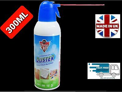 Air Duster Spray Gas Cleaner 300ml Compressed Dust Blower PC Laptop • 9.99£