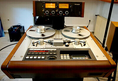 £7844.83 • Buy Studer A812 2 Tracks Reel To Reel Professional Studio Tape Recorder Player