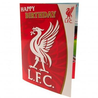 Liverpool FC Musical Sound Birthday Card Official Licensed Product • 5.95£
