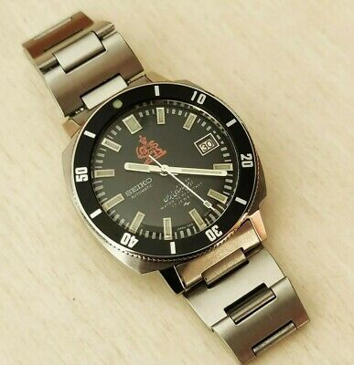 $ CDN766.62 • Buy Rare Vintage Seiko Automatic Diver Watch Iraniani Royal Army 7005 8140 No Panda