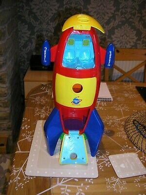 Toy Space Ship Rocket With Sounds And Characters - Carousel • 3£