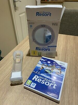 Wii Sports Resort - Boxed With Motion Plus For Nintendo Wii • 10.49£