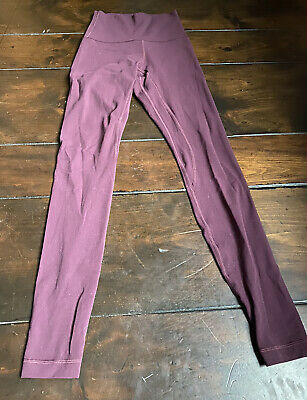 $ CDN23.47 • Buy Lululemon Maroon Leggings Size 2