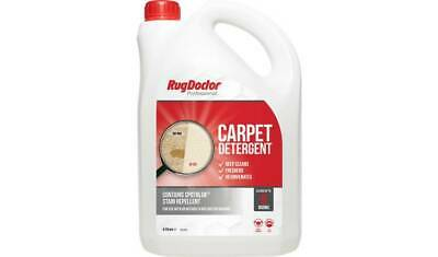 Rug Doctor Carpet Cleaner Shampoo Cleaning Detergent Odour 4L- NEXT DAY DISPACH • 39.99£