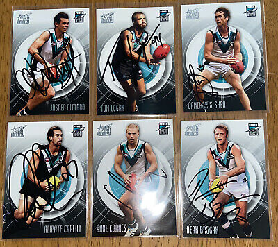 AU24 • Buy AFL Select 2011 Infinity Port Adelaide Power Signed Cards X6
