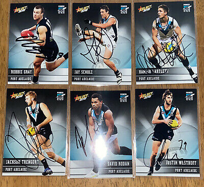 AU24 • Buy AFL Select 2012 Champions Port Adelaide Power Signed Cards X6