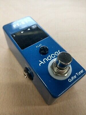$ CDN28.05 • Buy Excellent PT-21 Andoer Electric Guitar Tuner Pedal Digital Screen