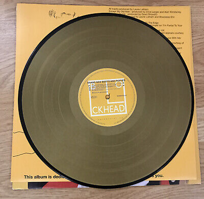 """Madness/ Ian Dury 'Brand New Boots And Panties' Limited Edition12"""" Gold Vinyl LP • 34.99£"""
