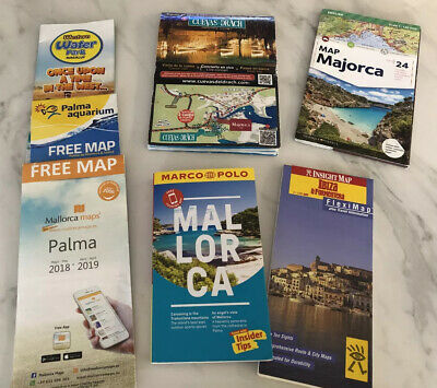Marco Polo Majorca Guide Book Plus 3 Maps & Ibiza Map • 0.99£