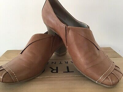 £8 • Buy Womens Leather Shoes In Sand Colour Size 5.5 Jana Brand Hardly Worn Vintage Look