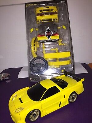£130.38 • Buy **XMODS 2004 ACURA NSX YELLOW WITH BODY KIT, Please Read!