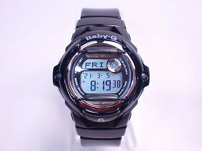 $ CDN40.53 • Buy Casio Women's Baby-G Shock BG169 Gloss Black Digital Quartz Watch