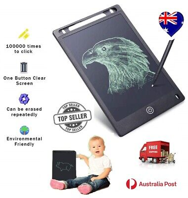 AU34.41 • Buy 10' LCD Writing Tablet Pad Doodle Drawing Graphics Board  Kids Adults With Pen