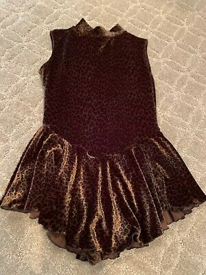Girls Figure Skating - Custom-made Practice Dress  Size 8/10 • 2.89£