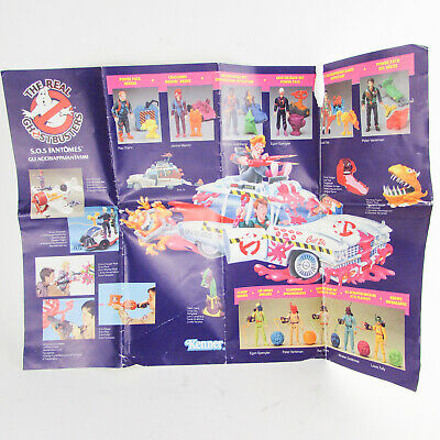KENNER THE REAL GHOSTBUSTERS Vintage Toy Brochure Action Figures Ecto-1A Advert • 6.99£