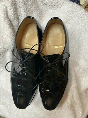£28 • Buy Mens Sanders Patent Leather Derby Shoes Uk 10.5
