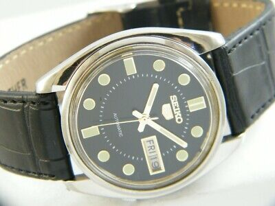 $ CDN3.07 • Buy OLD VINTAGE SEIKO 5 AUTOMATIC JAPAN MEN'S DAY/DATE WATCH 432h-a216780-2