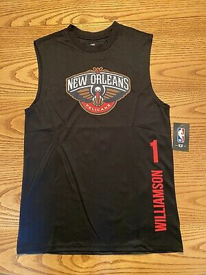$12.50 • Buy New Orleans Pelicans Nba Unk Zion Williamson #1 Mens Sleevless Jersey S-l