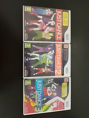 Just 1,2 & 3 Wii Games • 20£