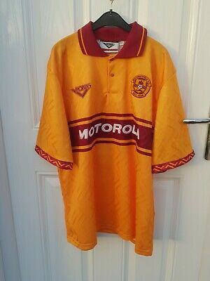 Motherwell Fc Football Home Shirt 1994 - 1995 Vintage Pony 90s MINT CONDITION L  • 100£