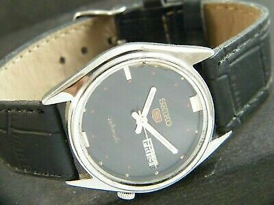 $ CDN1.26 • Buy OLD VINTAGE SEIKO 5 AUTOMATIC JAPAN MEN'S DAY/DATE WATCH 413f-a207380-1