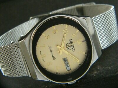 $ CDN0.96 • Buy OLD VINTAGE SEIKO 5 AUTOMATIC JAPAN MEN'S DAY/DATE WATCH 432f-a216311-3