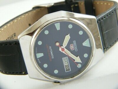 $ CDN0.96 • Buy OLD VINTAGE SEIKO 5 AUTOMATIC JAPAN MEN'S DAY/DATE WATCH 428-a213970-3