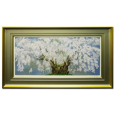 $ CDN4860.34 • Buy Products Chinami Nakajima Weeping Cherry Blossoms In Tsuboi Landscape Paintings