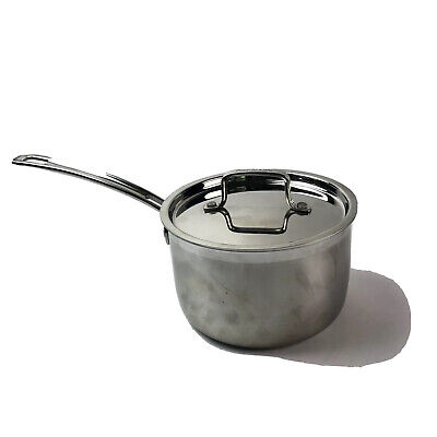 $ CDN41.83 • Buy Cuisinart MCP193-18N Stainless Steel 3-Quart  2.8L Saucepan With Cover Induction